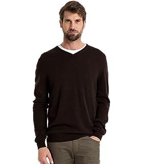 f6e642067d04 Fynch Hatton Men s s V-Neck Jumper  Amazon.co.uk  Clothing