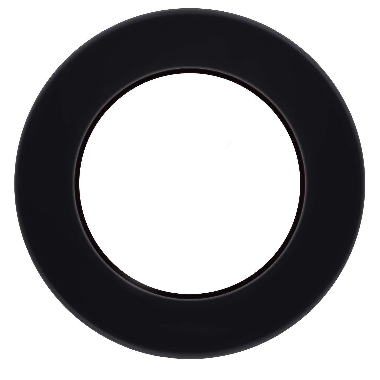 MASO Universal Manuell Schaltknauf Leder 5 Gang Schalthebel mit 3 Adapters 8mm 10mm 12mm f/ür die meisten Autos Schwarz