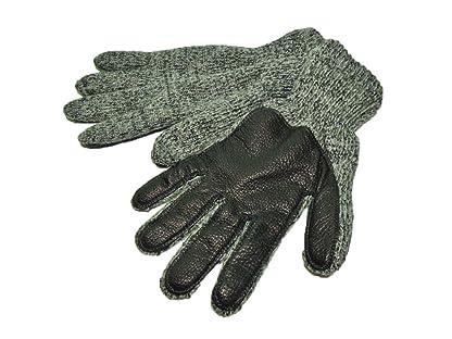 Newberry Knitting Deerskin Palm Ragg Wool Glove
