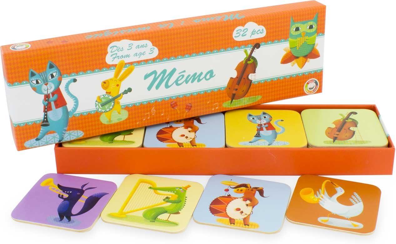 Musique Music Memory Game Ulysses 3963 MEMO