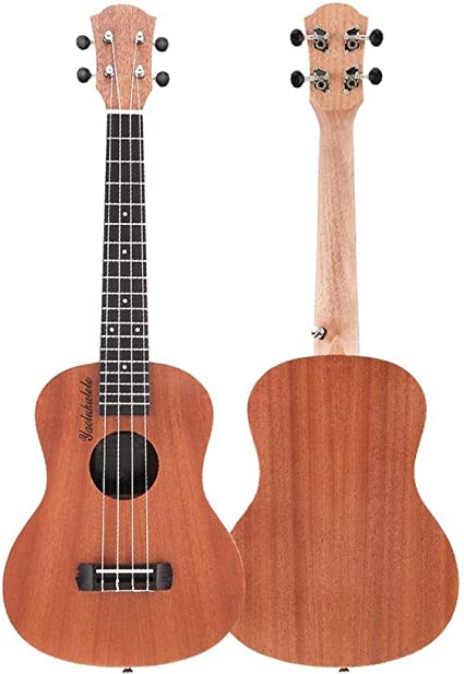 ZGHNAK Kits de ukelele de concierto de 23 pulgadas de madera de ...