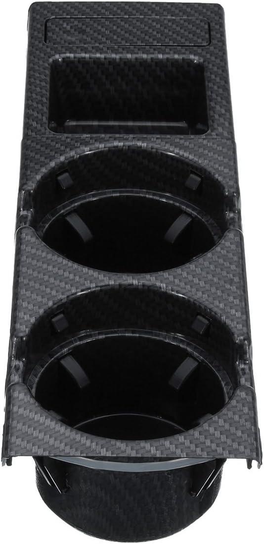 Viviance Carbon Fibre Center Console Drink Cup Porte-Monnaie Bo/îte pour BMW 3 Series E46 99-06