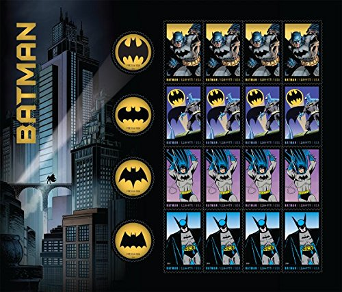 batman-75th-anniversary-full-sheet-of-20-forever-stamps-in-8-designs-usa-2014