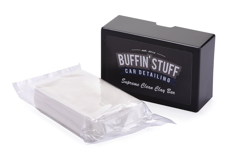 Buffin' Stuff Car Detailing Barra lucidante in Argilla per Auto, 200 g Buffin' Stuff Car Detailing