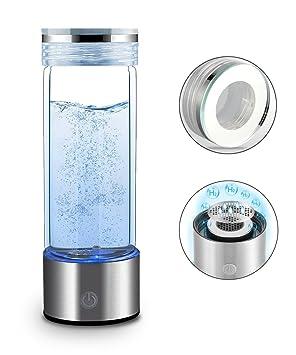 RESH Clase Mundial Botella de Agua de Hidrógeno Enriquecido con tecnología PEM 400ml Botella de Agua