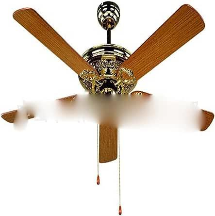 Ventilador de techo decorativos de 52 pulgadas, 5 piezas de madera ...