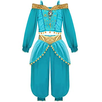 Disney Store Jasmine Costume From Aladdin 2 3