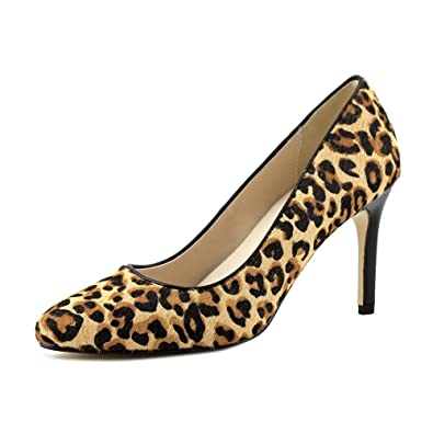 Cole Haan Women's Fair Haven Pump Ocelot Haircalf Pump