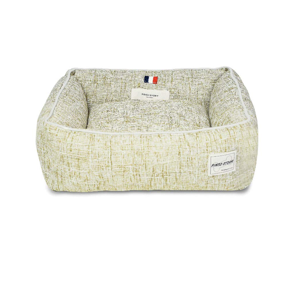 I Large I Large Qi Pet Supplies Carrier Dog Bed Mat Kennel For Teddy Small And Medium-sized Dogs (color   I, Size   L)