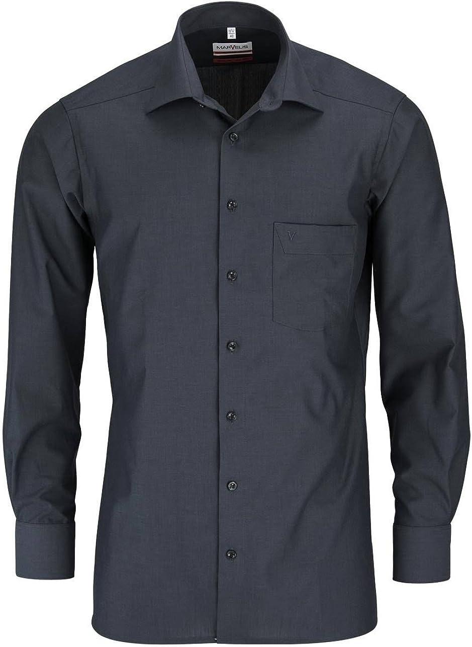 Marvelis - Camisa formal - para hombre: Amazon.es: Ropa y accesorios
