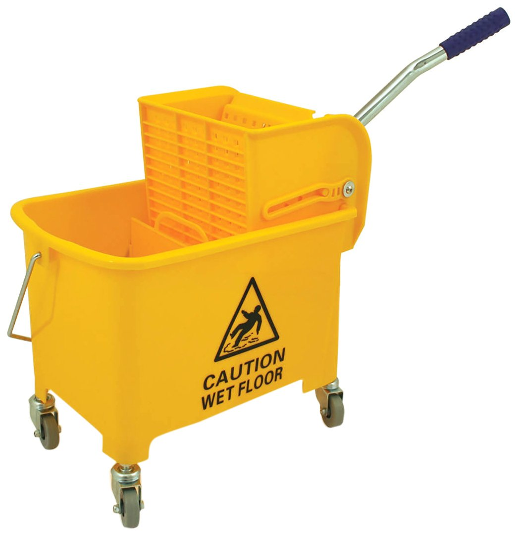 Bentley Industrial MB.20/Y Mobile Mob Bucket, 20 L Capacity, Yellow Charles Bentley & Son Ltd 271981