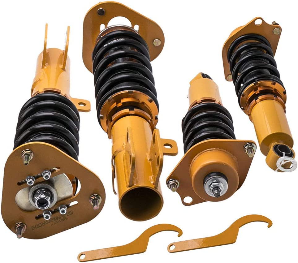 Height Shocks Coil Springs Suspensions Matrix 09-14 Adj Complete Coilovers Struts for Toyota Corolla 09-17
