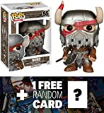 Nord: Funko POP! x The Elder Scrolls Online Vinyl Figure + 1 FREE Video Games Themed Trading Card Bundle [52706]