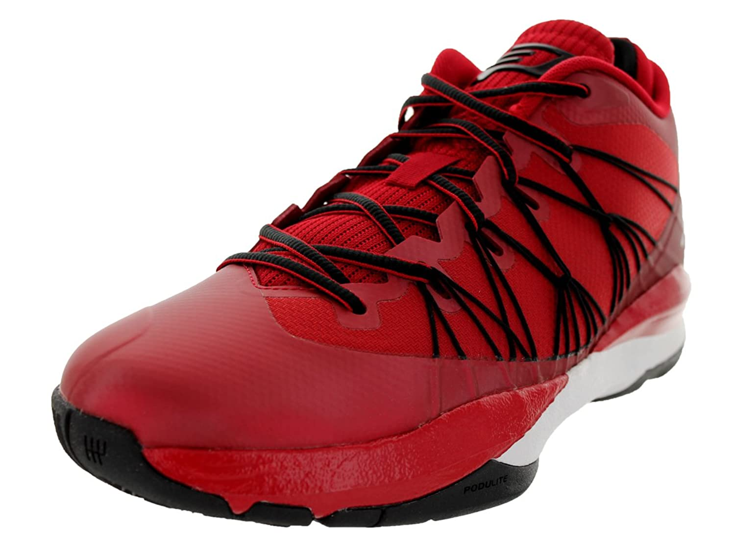 Nike Mens Jordan CP3.VII AE Basketball Shoes, Red, 10 M US 601-gym Red/Black-white