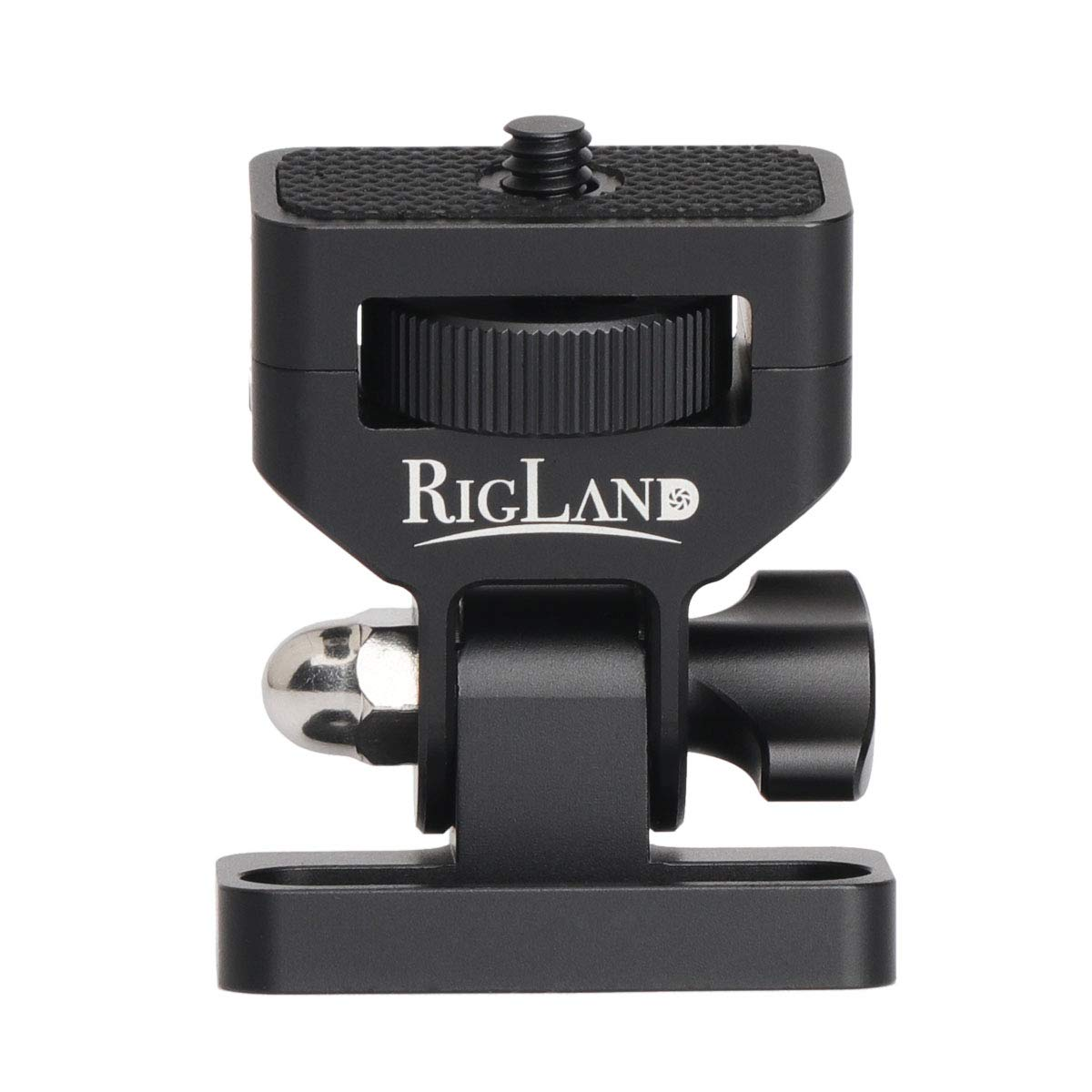 RigLand Camera Monitor Mount, Monitor Holder with 180° Friction for Camera Field Monitor - 680