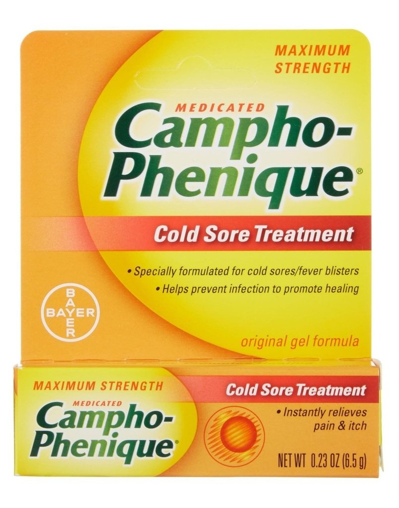 Campho-Phenique Cold Sore Treatment 0.23 oz (Pack of 12)