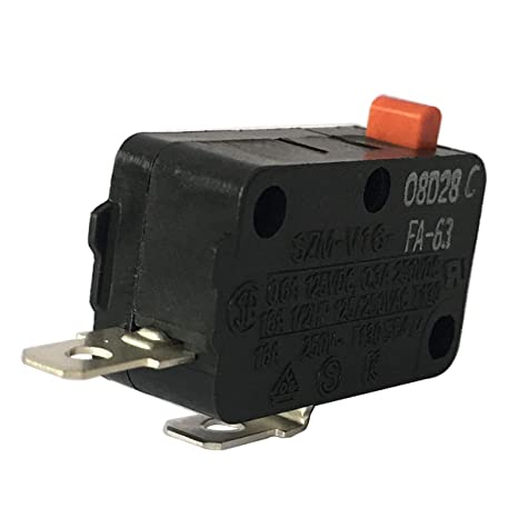 LONYE SZM-V16-FA-63 Microwave Door Switch for LG GE Kenmore Microwave Oven SZM-V16-FD-63 3B73362F PS3522738 (Normally Open)(1 Pc)