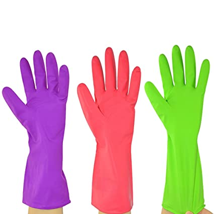 new styles order online lower price with Amazon.com: Ztl 3 Pairs Waterproof Reusable Household Long ...