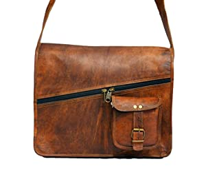 Messenger of LeatherVintage Leather Handmade Satchel and Briefcase 14