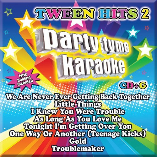 Party Tyme Karaoke - Tween Hits 2 [8+8-song CD+G]