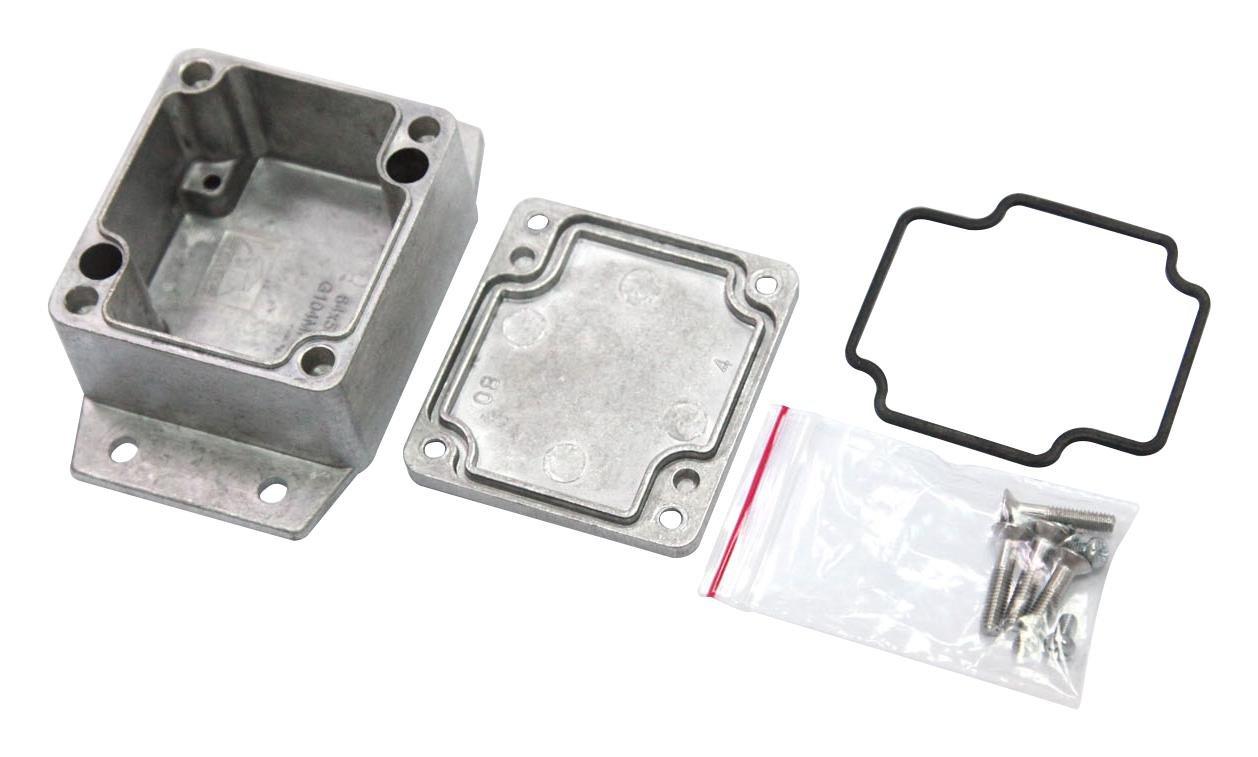Aluminium Alloy MC001231 Metal Enclosure 75 mm IP67 MULTICOMP 120 mm Wall Mount 200 mm