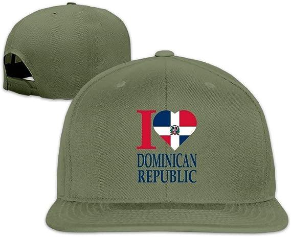 Gorra de béisbol de la República Dominicana Snapback: Amazon.es ...