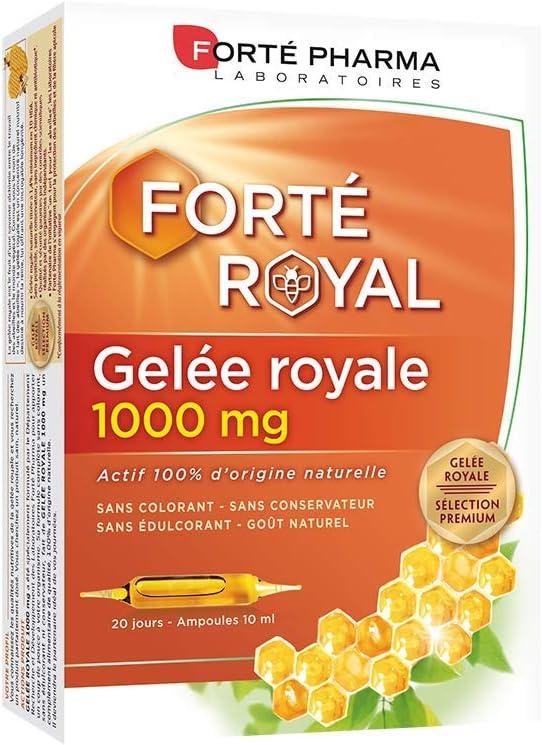 Fort Pharma Royal Jelly 1000mg 20 Phials by Forte Pharma