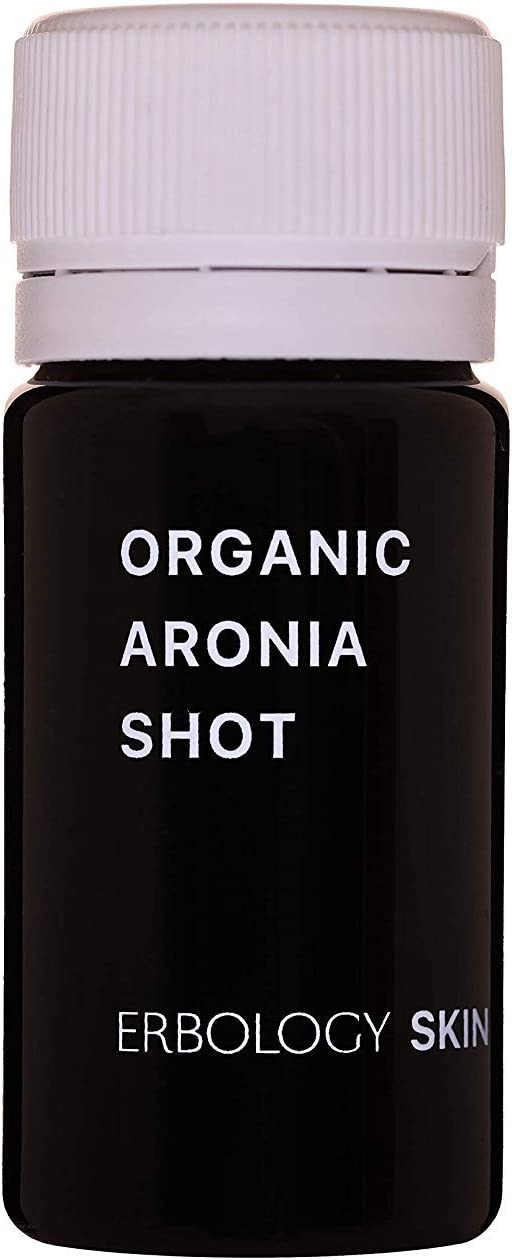 Organic Aronia Shots (Box of 30 x 1.4 fl oz Shots) - Rich in Anthocyanins - Skin Tonic
