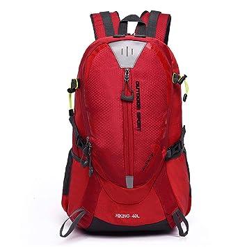ZAJY 40L Mochilas De Excursionismo para Caminar Al Aire Libre De Mochilas para Caminatas Mochilas Plegables