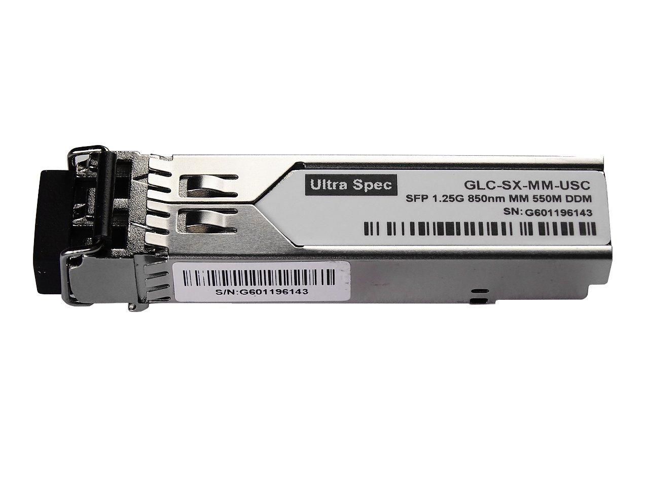 GLC-SX-MM 1000Base-SX SFP Fiber LC MINI-GBIC - Cisco Compliant by Ultra Spec Cables (Image #1)