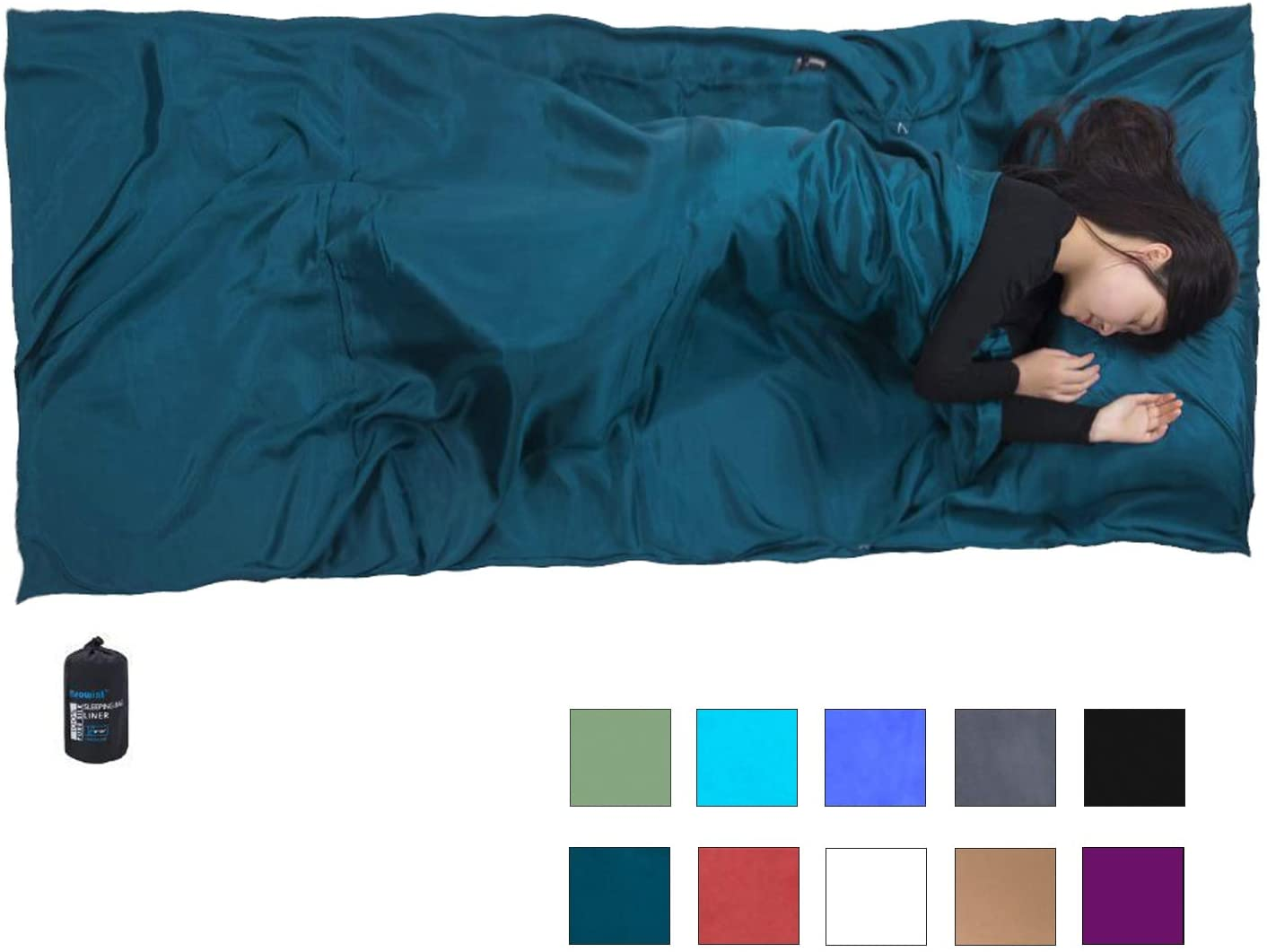 recomended sleeping bag liner