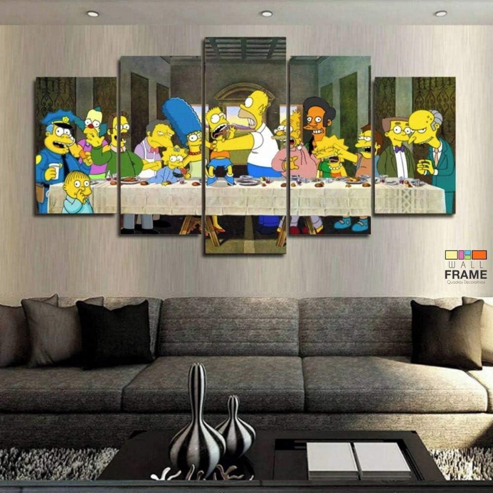 Simpsons santa ceia