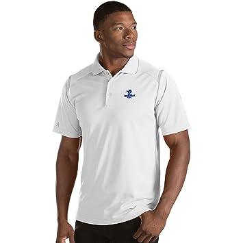 Amazon.com   Antigua Men s Seton Hall Pirates Merit Polo Shirt White Silver    Sports   Outdoors 96ff81c43
