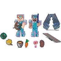 Minecraft Delüks Figür Steve & Alex