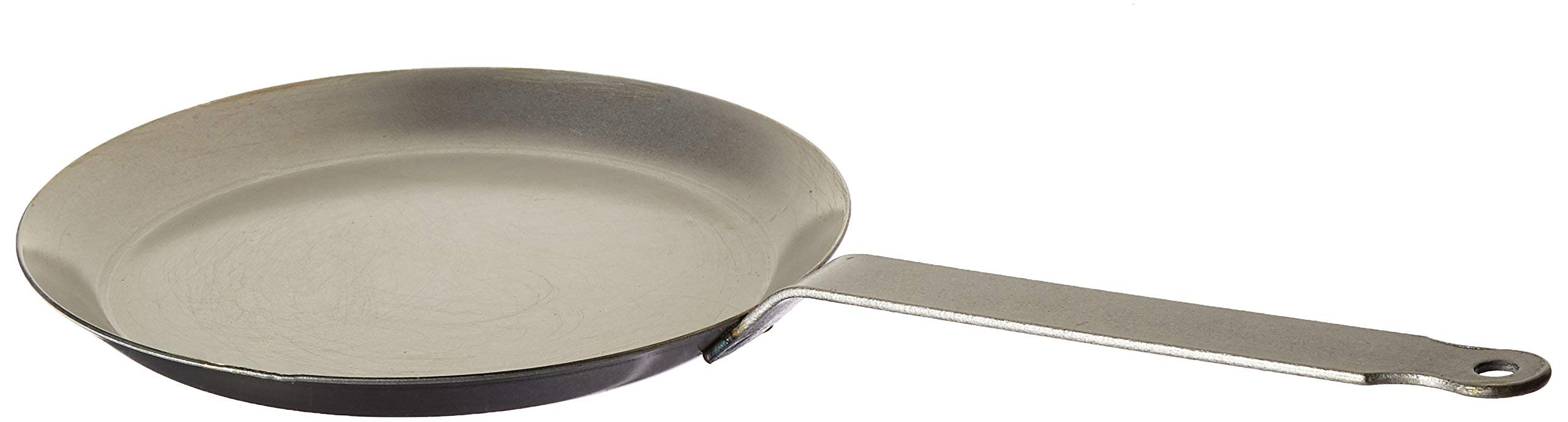 Matfer Bourgeat 062034 Round Crepe Pan, 9 1/2-Inch, Gray by Matfer Bourgeat