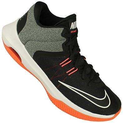 42a494efe6 Nike Men's AIR Versitile II Black/White-Total Crimson Basketball Shoes-8 UK