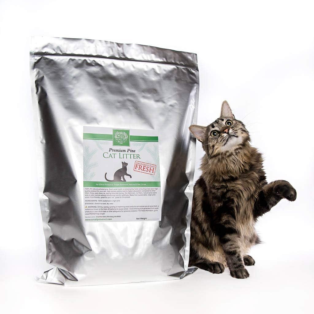 Small Pet Select Premium Pine Pelleted Cat