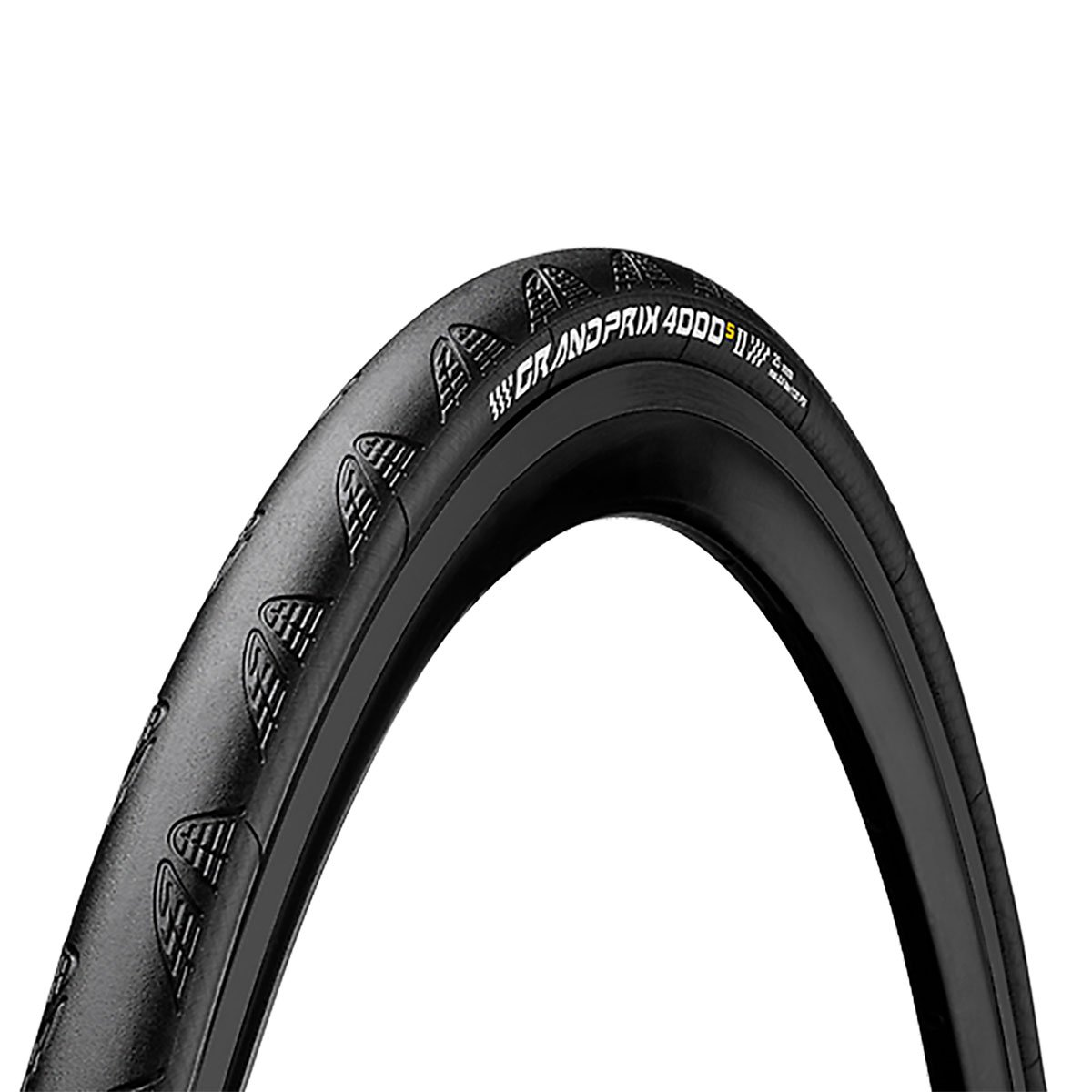 Continental Grand Prix 4000 S II Road Clincher, Black, 700 x 23C