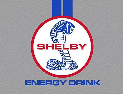 Amazon.com : Shelby Twin Turbo Energy Drink Set of 7 Cans Rare New Cobra Carroll Ready to Drink : Grocery & Gourmet Food