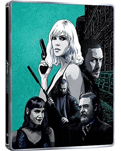 Atomic Blonde STEELBOOK ( Blu-ray + DVD ) English, Spanish & Portuguese Audio & Subtitles - IMPORT