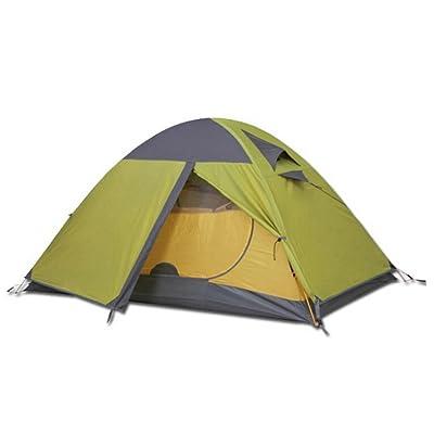 à Double Tente De Mât En Aluminium Saisons De Camping En Plein Air ZHANGYUQI La Pluie Battante,GrassGreen