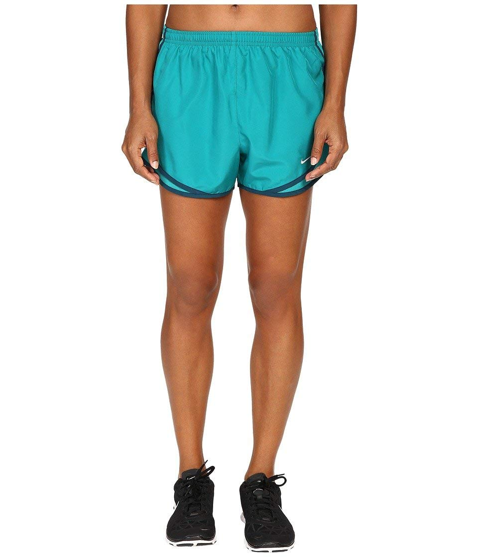 Nike Women's Tempo Short, Rio Teal/Wolf Grey, XS X 3.5