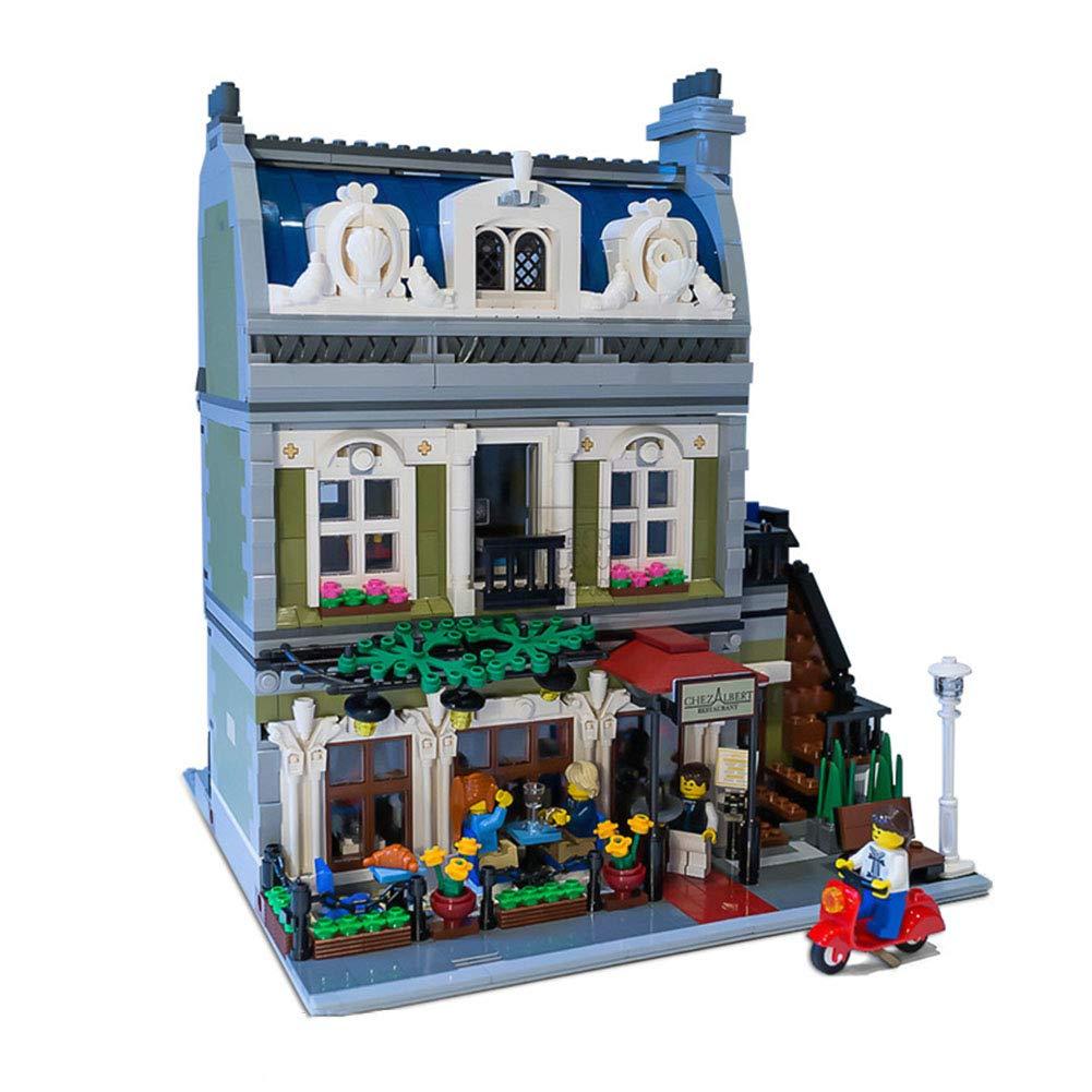 FTOPS Kit Building Paris Building Blocks Imposta Modello Toy 2418 Pezzi