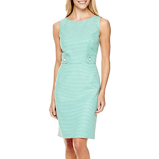 5011e7fafaa318 Chelsea Rose Sleeveless Side-Tab Sheath Dress New Size 14  Amazon.ca   Clothing   Accessories