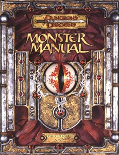 Monster manual: core rulebook iii (dungeons & dragons): monte cook.