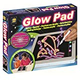 AMAV Glow Pad - Portable Hi-Tech Drawing Board for kids Toy Tablet-size With 7 Interchanging Blinking Colorful Lights. Children's light up coloring board, Arts and Crafts set