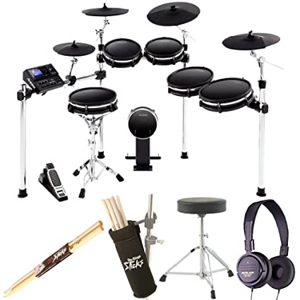 amazon com alesis dm10 mkii pro kit ten piece electronic drum kit