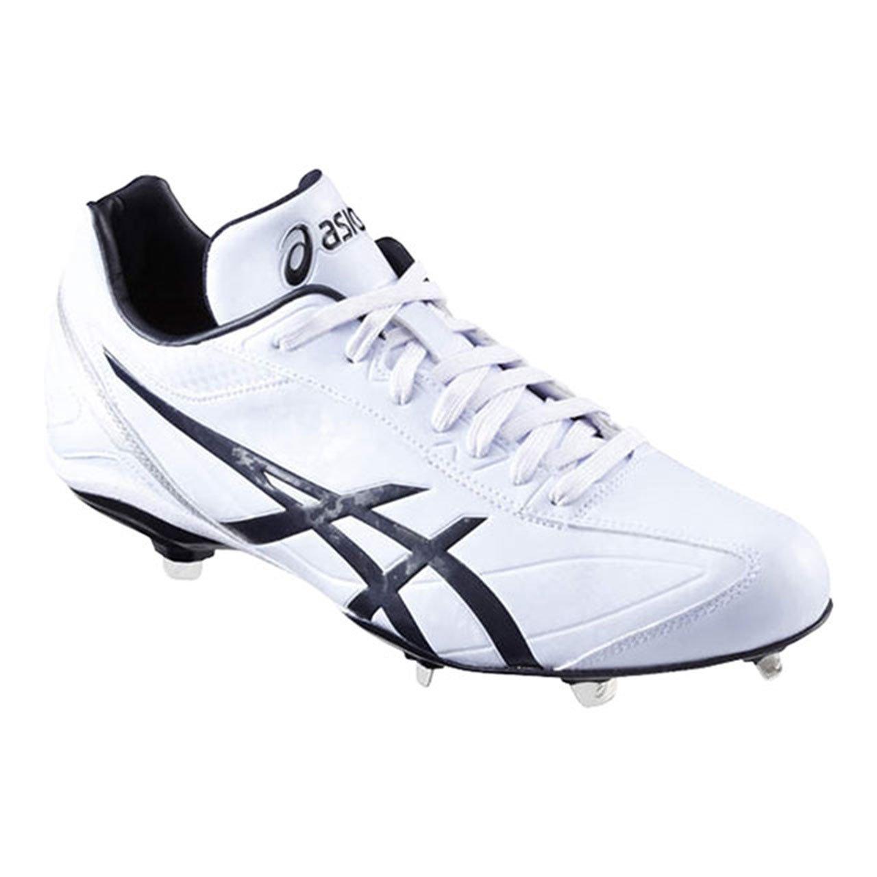 [アシックス] 野球スパイク I DRIVE(現行モデル) B01LSX16CS 24.5 cm|ホワイト×ネイビー(0150) ホワイト×ネイビー(0150) 24.5 cm