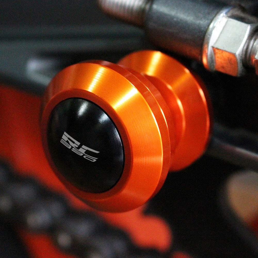 M10 10mm Schwingenschutz Schwingenadapter St/änder Bobbins Spool Racingadapter St/änderaufnahme f/ür Duke RC 390 2014-2018