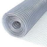 ALEKO Mesh Wire Roll Cloth 16 Gauge Steel 48 Feet Long 75 Inch Height 1/2x1 Inch Mesh